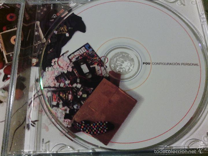 CDs de Música: CD MAQUETA Original POU - CONFIGURACIÓN PERSONAL / RAP HIP HOP ESPAÑOL / MUY RARO!!!!! - Foto 2 - 56203724