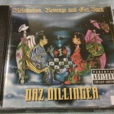 CDs de Música: CD ORIGINAL DAZ DILLINGER - RETALIATION,REVENGE AND GET BACK / RAP HIP HOP USA / 2001 / RARO!!!!!. Lote 56204406