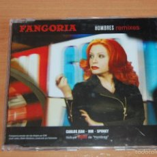 CDs de Música: CD SINGLE FANGORIA HOMBRES REMIXES. Lote 56207286
