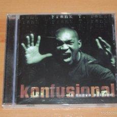 CDs de Música: CD FRANK T KONFUSIONAL. Lote 56207500