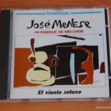 CDs de Música: CD JOSE MENESE CON ENRIQUE DE MELCHOR EL VIENTO SOLANO. Lote 56207695
