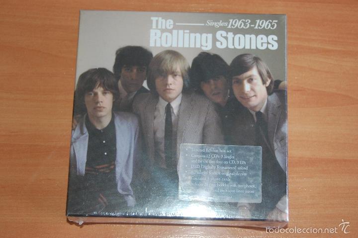 BOX SET CAJA 12 CD THE ROLLING STONES SINGLES 1963 1965 NUEVO SIN DESPRECINTAR (Música - CD's Rock)