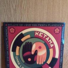 CDs de Música: FIRMADO !! KETAMA. DAME LA MANO. LIBRETO/CD + DVD + PÓSTER. DISCOS CON USO / FIRMADO: ANTONIO.. Lote 56235301