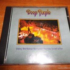 CD de Música: DEEP PURPLE MADE IN EUROPE CD ALBUM 1990 RICHIE BLACKMORE DAVID COVERDALE GLENN HUGHES JON LORD UK. Lote 56239926