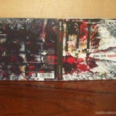 CDs de Música: DAS ICH - EGODRAM - CD DIGIPACK CON LIBRETO. Lote 56242381