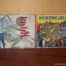 CDs de Música: DEMENCIALES - MUNDO DANTESCO - CD. Lote 56257393