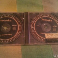 CDs de Música: TECHNICS CLUBBERS EDITION A SUMMER PARTY 2002. 2 CDS. HAUSE. Lote 90444812
