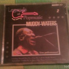 CDs de Música: MUDDY WATERS - LEGENDS OF POP MUSIC 2-MOJO WORKING.1983. CD VIDEO. Lote 56261105