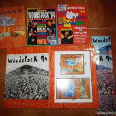 CDs de Música: WOODSTOCK 94 CAJA NUMERADA 172 COMPLETA 2 CD + VHS + 4 CD SINGLE PROMO ESPAÑA + 2 REVISTAS BOX SET. Lote 197454475