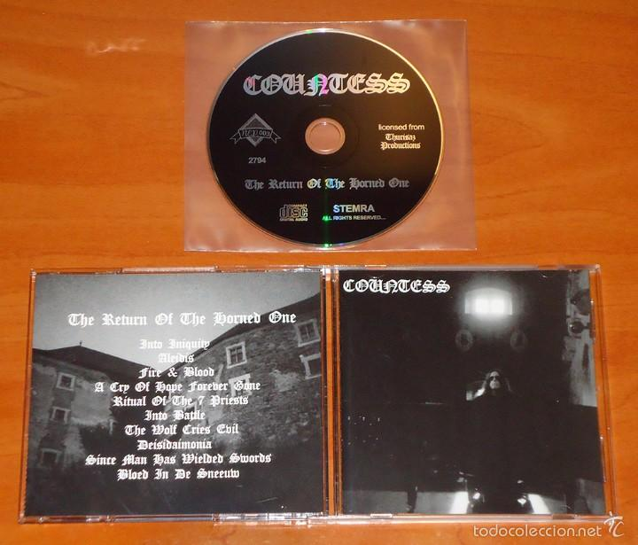 COUNTESS - THE RETURN OF THE HORNED ONE - CD [REEDICIÓN] (Música - CD's Heavy Metal)