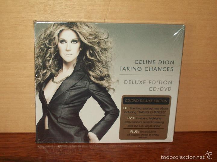 CELINE DION - TAKING CHANCES - CD + DVD DELUXE DITION NUEVO PRECINTADO (Música - CD's Pop)