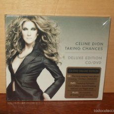 CDs de Música: CELINE DION - TAKING CHANCES - CD + DVD DELUXE DITION NUEVO PRECINTADO. Lote 56274171