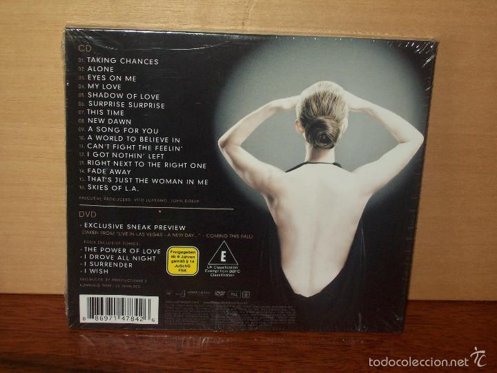 CDs de Música: CELINE DION - TAKING CHANCES - CD + DVD DELUXE DITION NUEVO PRECINTADO - Foto 2 - 56274171