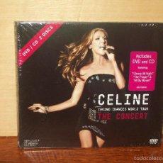 CDs de Música: CELINE DION - TAKING CHANCES WORLD TOUR THE CONCERT - CD + DVD DIGIPACK NUEVO PRECINTADO. Lote 56274316