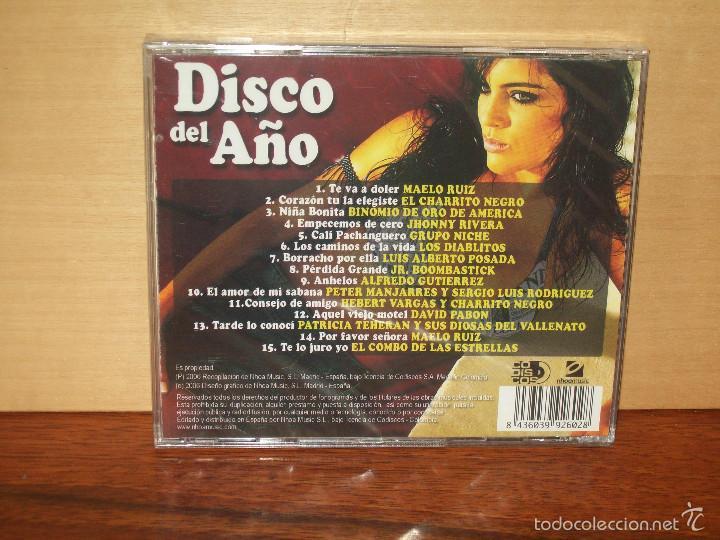 CDs de Música: DISCO DEL AÑO - VARIOS ARTISTAS - CD NUEVO PRECINTADO - Foto 2 - 56274481