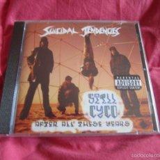 CDs de Música: SUICIDAL TENDENCIES - STILL CYCO AFTER ALL THESE YEARS CD NUEVO Y PRECINTADO - HARDCORE THRASH METAL. Lote 56282984