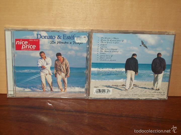 DONATO & ESTEFANO - DE HOMBRE A MUJER - CD NUEVO PRECINTADO (Música - CD's Latina)