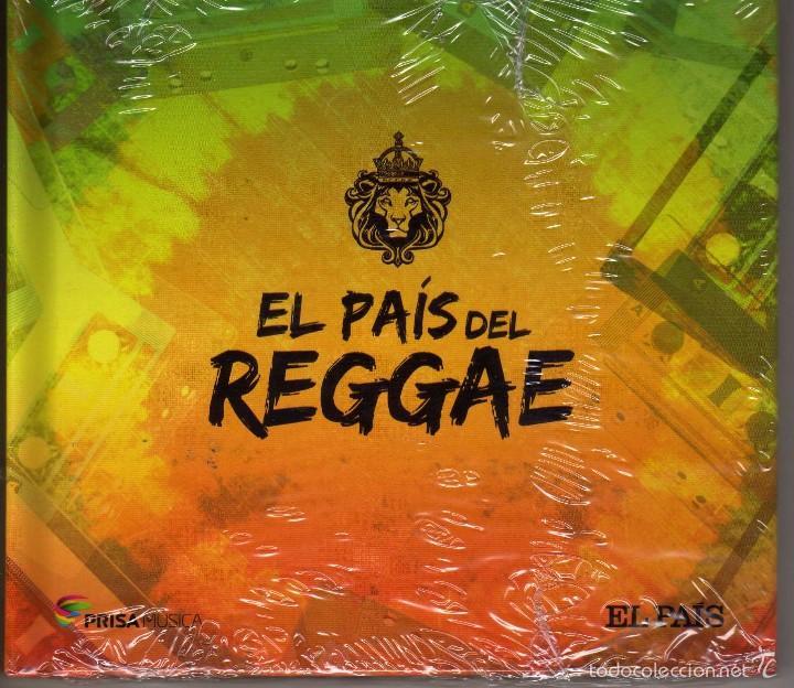 RECOPILATORIO, EL PAIS DEL REGGAE, LIBRO DISCO PRECINTADO (Música - CD's Reggae)