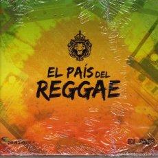 CDs de Música: RECOPILATORIO, EL PAIS DEL REGGAE, LIBRO DISCO PRECINTADO. Lote 56289375