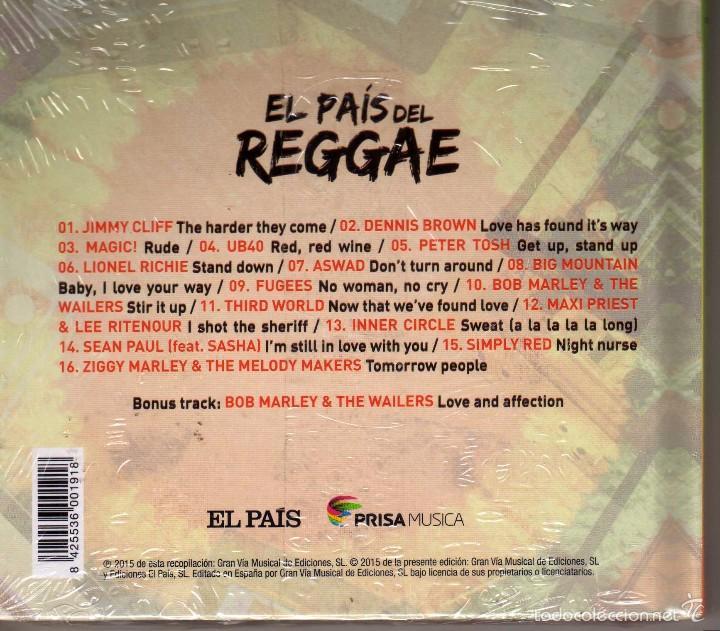 CDs de Música: Recopilatorio, El pais del Reggae, Libro disco precintado - Foto 2 - 56289375