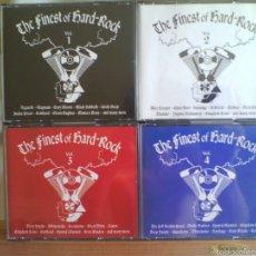 CDs de Música: LOTE 4 CDS DOBLES VARIOS - THE FINEST OF HARD ROCK (8 CDS). Lote 56299776