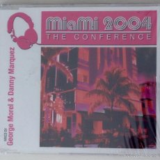 CDs de Música: MIAMI 2004 THE CONFERENCE CD PROMO MIXED BY GEORGE MOREL & DANNY MARQUEZ. Lote 56307626