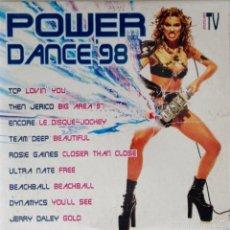 CDs de Música: POWER DANCE 98 CD VERSIÓN PROMOCIONAL PARA EMISORAS DE RADIO BIT MUSIC. Lote 56313030