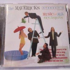 CDs de Música: CD THE MAVERICKS MUSIC FOR ALL OCASIONS AÑO 1995. Lote 56317118