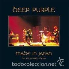 CDs de Música: DEEP PURPLE. MADE IN JAPAN. Lote 56369637