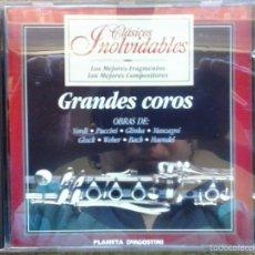 CDs de Música: GRANDES COROS / VERDI, PUCCINI, GLINKA, MASCAGNI, GLUCK, WEBER, BACH, HAENDEL. PLANETA DE AGOSTINI.. Lote 56373557