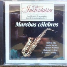 CDs de Música: MARCHAS CÉLEBRES / VERDI, MOZART, SCHUBERT, BERLIOZ, CHAIKOVSKY, BIZET, GRIEG... PLANETA DE AGOSTINI. Lote 56392255