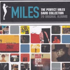 CDs de Música: THE PERFECT MILES DAVIS COLLECTION - BOX SET CON 20 ALBUMES ORIGINALES.. Lote 56394281