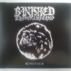CDs de Música: BANISHED FROM INFERNO - MINOTAUR. Lote 56394451