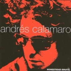 CDs de Música: DOBLE CD ALBUM: ANDRÉS CALAMARO - HONESTIDAD BRUTAL - 37 TRACKS - WARNER MUSIC ARGENTINA 1999. Lote 56398193