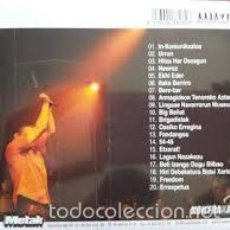 CDs de Música: FERMIN MUGURUZA KONTRABANDA SALA APOLO 2004 CD DIGIPAK . Lote 56401285