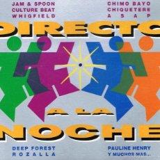 CDs de Música: CD DIRECTO A LA NOCHE (2 CD). Lote 56444177