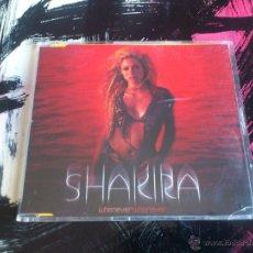 CDs de Música: SHAKIRA - WHENEVER WHEREVER - CD SINGLE - PROMO - 2 TRACKS - SONY - 2001. Lote 56459756