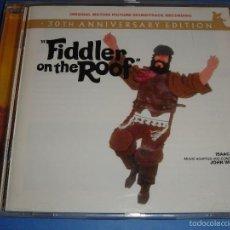 CDs de Música: FIDDLER ON THE ROOF / ORIGINAL SOUNDTRACK / EL VIOLINISTA EN EL TEJADO / BANDA SONORA / BSO / CD. Lote 56459805
