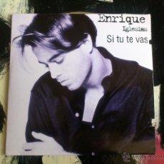 CDs de Música: ENRIQUE IGLESIAS - SI TU TE VAS - SE TE NE VAI - CD SINGLE - 2 TRACKS - MCA - 1996. Lote 56460217