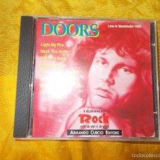 CDs de Música: THE DOORS. LIVE IN STOCKHOLM 1968. CD. ARMANDO CURCIO EDITORE. Lote 56465046