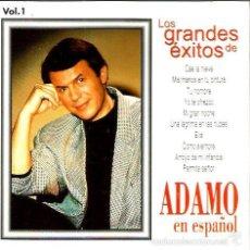 CDs de Música: CD ADAMO EN ESPAÑOL ( CAE LA NIEVE, MIS MANOS EN TU CINTURA, MI GRAN NOCHE, ETC ) . Lote 56467480