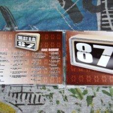 CDs de Música: TODOS LOS Nº1 DEL AÑO 87 - 2 CD'S - BLANCO Y NEGRO - MXCD 1634 (CB) CTV. Lote 56468089