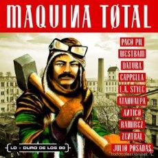 CDs de Música: BLANCO Y NEGRO- MAQUINA TOTAL-LO MÁS DURO DE LOS 90-3CD. Lote 195095340