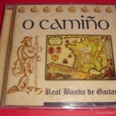 CDs de Música: O CAMIÑO / REAL BANDA DE GAITAS DE ORENSE / RTVE MUSICA / MUSICA DE GAITA / CD. Lote 56485080