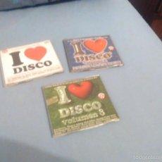 CDs de Música: 3 CD S PROMO I LOVE DISCO. ITALO 80. Lote 87059810