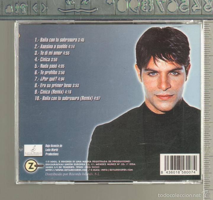 CDs de Música: MUSICA GOYO - CD ALBUM - JUAN CARLOS LOBO - BAILA - *UU99 - Foto 3 - 21741397