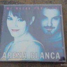 CDs de Música: CD NUEVO PRECINTADO ARENA BLANCA ME MUERO POR ELLA TECNO TECHNO RUMBA. Lote 208414188
