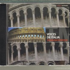 CDs de Música: MUSICA GOYO - CD ALBUM - VOCES DE ITALIA - CAROSONE - MODUGNO - LANZA - VILA - MARINI - ETC. - *UU99. Lote 56518352