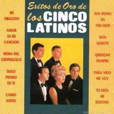 CDs de Música: LOS CINCO LATINOS - EXITOS DE ORO - CD 10 TRACKS - EDITADO EN ESPAÑA - ORFEON 1995. Lote 56520609