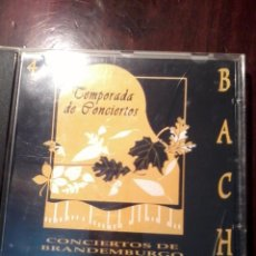 CDs de Música: TEMPORADA DE CONCIERTOS. 4 BACH. CONCIERTOS DE BRANDEMBURGO. MB1CD. Lote 56520689